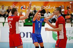 20170524 NED: 2018 FIVB Volleyball World Championship qualification, Koog aan de Zaan<br />Matej Kubs (5) of Slovakia <br />©2017-FotoHoogendoorn.nl / Pim Waslander