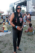 """August 27, 2016- Brooklyn, New York-United States: DJ Beverly Bond, Founder, Black Girls Rock! attends the 2016 AfroPunk Brooklyn Concert Series held at Commodore Barry Park on August 27, 2016 in Brooklyn, New York City. Described by some as """"the most multicultural festival in the US,"""" which includes an eclectic line-up and an audience as diverse as the acts they come to see. (Photo by Terrence Jennings/terrencejennings.com)"""