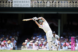 © Licensed to London News Pictures. 03/01/2014. Steve Smith batting during the 5th Ashes Test Match between Australia Vs England at the SCG on 03 January, 2013 in Melbourne, Australia. Photo credit : Asanka Brendon Ratnayake/LNP