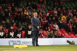 February 1, 2020, Cardiff (Wales, Italy: franco smith head coach of Italy prima of match against the galles during Wales vs Italy, Six Nations Rugby in Cardiff (Wales), Italy, February 01 2020 (Credit Image: © Massimiliano Carnabuci/IPA via ZUMA Press)