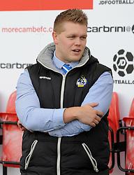 Steve - Mandatory byline: Neil Brookman/JMP - 07966 386802 - 03/10/2015 - FOOTBALL - Globe Arena - Morecambe, England - Morecambe FC v Bristol Rovers - Sky Bet League Two