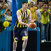 Fenerbahce's Darjus LAVRINOVIC during their Turkish Basketball Legague Play-Off final fifth match Fenerbahce between Galatasaray at the Sinan Erdem Arena in Istanbul Turkey on Tuesday 14 June 2011. Photo by TURKPIX