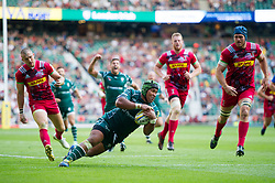 Ofisa Treviranus of London Irish scores a try in the second half - Mandatory byline: Patrick Khachfe/JMP - 07966 386802 - 02/09/2017 - RUGBY UNION - Twickenham Stadium - London, England - London Irish v Harlequins - Aviva Premiership