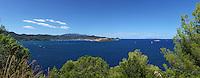 mediterranean coastline island