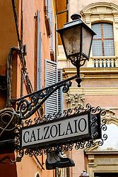 Restaurant sign, Bologna, Italy<br /> <br /> (c) Andrew Wilson | Edinburgh Elite media