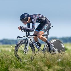 EMMEN (NED) June 16: <br />CYCLING <br />Dutch Nationals Time Trail men U23 Huub Artz