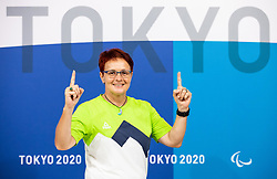 TOKYO, JAPAN --AUGUST 26: Polona Sladic of Team Slovenia posing during photo session at Paralympic village on day 2 of the Tokyo 2020 Paralympic Games on August 26, 2021 in Tokyo, Japan. Photo by Vid Ponikvar / Sportida