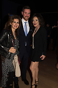 MONA KHASHOGGI; ANDY ROBB; NANCY DELL D'OLIO, Bonhams host a private view for their  forthcoming auction: Jackie Collins- A Life in Chapters' Bonhams, New Bond St.  3 May 2017.