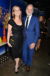 JO LEVIN and RICHARD JAMES at a dinner hosted by Anya Hindmarch and Dylan Jones to celebrate the end London Collections: Men 2014 held at Hakkasan, 8 Hanway Place, London on 8th January 2014.