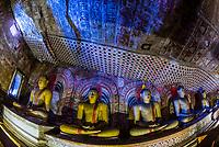 Dambulla Cave Temples, Dambulla, Central Province, Sri Lanka.