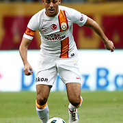 Galatasaray's Nordin Amrabat during their friendly soccer match Galatasaray between ACF Fiorentina at the TT Arena in istanbul Turkey on Wednesday 08 August 2012. Photo by TURKPIX