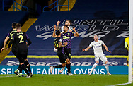 Leeds United defender Liam Cooper (6) in action  during the Premier League match between Leeds United and Newcastle United at Elland Road, Leeds, England on 16 December 2020.