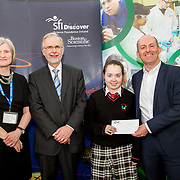 27.04.2016.          <br />  Kalin Foy and Ciara Coyle win SciFest@LIT<br /> Kalin Foy and Ciara Coyle from Colaiste Chiarain Croom to represent Limerick at Ireland's largest science competition.<br /> <br /> Hazelwood College student, Elaine Kennedy's project, Spraying is a hazard on the farm, Know what your doing and don't cause harm!, was highly commended in the Life Sciences Category.  Elaine Kennedy is pictured with George Porter, SciFest and Brian Aherne, Intel.<br /> <br /> Of the over 110 projects exhibited at SciFest@LIT 2016, the top prize on the day went to Kalin Foy and Ciara Coyle from Colaiste Chiarain Croom for their project, 'To design and manufacture wireless trailer lights'. The runner-up prize went to a team from John the Baptist Community School, Hospital with their project on 'Educating the Youth of Ireland about Farm Safety'. Picture: Alan Place