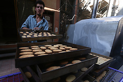 May 27, 2017 - Douma, Damascus, Syria - Daily lfe during the first days of Ramadan in areas controlled by the Syrian opposition near Damascus in the city of Douma on May 27, 2017. (Credit Image: © Samer Bouidani/NurPhoto via ZUMA Press)