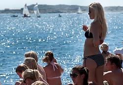 Woman's final day - Stena Match Cup Sweden 2010, Marstrand-Sweden. World Match Racing Tour. photo: Loris von Siebenthal - myimage