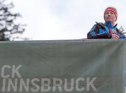 04.01.2015, Bergisel Schanze, Innsbruck, AUT, FIS Ski Sprung Weltcup, 63. Vierschanzentournee, Innsbruck, 1. Wertungssprung, im Bild FIS Ski Sprung Renndirektor Walter Hofer // FIS Ski Jumping Race Director Walter Hofer soars trought the air during his first competition jump for the 63rd Four Hills Tournament of FIS Ski Jumping World Cup at the Bergisel Schanze in Innsbruck, Austria on 2015/01/04. EXPA Pictures © 2015, PhotoCredit: EXPA/ JFK