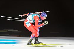 February 11, 2018 - Pyeongchang, Gangwon, South Korea - Matej Kazar ofSlovakia  at Mens 10 kilometre sprint Biathlon at olympics at Alpensia biathlon stadium, Pyeongchang, South Korea on February 11, 2018. (Credit Image: © Ulrik Pedersen/NurPhoto via ZUMA Press)