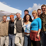 BNN winterpresentatie 2003, Patrick lodiers, Egbert-Jan Weeber, Eddy Zoey, Katja Schuurman, Eric Corton, Bridget Maasland, Jeroen Kijk in de Vegte, Ruud de Wild