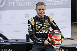 February 18, 2019 - Barcelona, Barcelona, Spain - Kevin Magnussen from Denmark with 20 Rich Energy Haas F1 Team portrait during the Formula 1 2019 Pre-Season Tests at Circuit de Barcelona - Catalunya in Montmelo, Spain on February 18, 2019. (Credit Image: © Xavier Bonilla/NurPhoto via ZUMA Press)