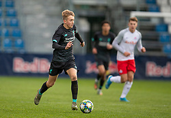 GRÖDIG, AUSTRIA - Tuesday, December 10, 2019: Liverpool's Jake Cain during the final UEFA Youth League Group E match between FC Salzburg and Liverpool FC at the Untersberg-Arena. (Pic by David Rawcliffe/Propaganda)