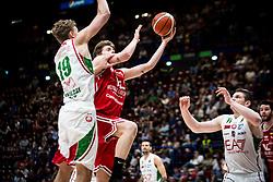 April 29, 2018 - Milan, Milan, Italy - during a basketball game of Poste Mobile Lega Basket A between  EA7 Emporio Armani Milano vs VL Pesaro at Mediolanum Forum, in Milan, Italy, on April 29, 2018. (Credit Image: © Roberto Finizio/NurPhoto via ZUMA Press)