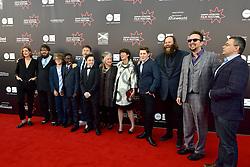 Agyness Deyn (Actor) Louis Suc (Actor), Malachi Hallett (Actor), Lorenzo Allchurch (Actor), Alex Helfrecht (Director) William Ahern (Actor), Olafur Darri Olaffssohn (Actor), Jorg Tittel (director), on the red carpet at the 2016 Edinburgh International Film Festival, WORLD PREMIERE of The White King at Cineworld, Edinburgh18th June 2016, (c) Brian Anderson | Edinburgh Elite media