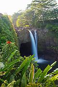 Rainbow Falls, Hilo, The Big Island of Hawaii