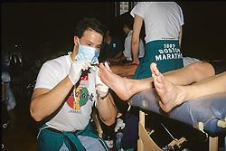 Post-Race Medical Assistance For 1993 Boston Marathon