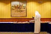 DOHA, QATAR - 10/05/2007 - Media, Pressroom, press, arabian, arab, camel, <br /> <br /> <br /> REPORTERS©Christophe Vander Eecken