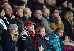 Bournemouth supporters' dreams of Capital Cup success are dashed by Liverpool - Photo mandatory by-line: Paul Knight/JMP - Mobile: 07966 386802 - 17/12/2014 - SPORT - Football - Bournemouth - Goldsands Stadium - AFC Bournemouth v Liverpool - Capital One Cup