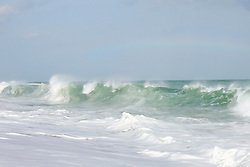 Waves breaking in sea, Tangalle, South Province, Sri Lanka