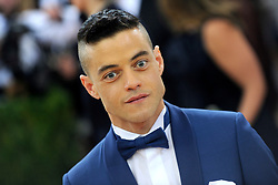 May 2, 2016 - New York, New York, USA - Rami Malek attending the 'Manus x Machina: Fashion In An Age Of Technology' Costume Institute Gala at Metropolitan Museum of Art on May 2, 2016 in New York City. (Credit Image: © Future-Image via ZUMA Press)