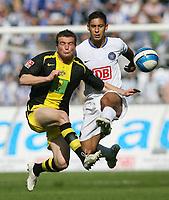 Fotball<br /> Bundesliga Tyskland<br /> 21.04.2007<br /> Foto: Witters/Digitalsport<br /> NORWAY ONLY<br /> <br /> v.l. Alexander Frei, Malik Fathi Hertha<br /> Bundesliga Hertha BSC Berlin - Borussia Dortmund