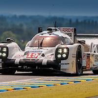 #19 Porsche 919 Hybrid, Porsche Team, Earl Bamber, Nico Hulkenberg, Nick Tandy, Le Mans 24H 2015