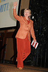 New York Senator Hillary Clinton arrives at the ServiceNation Summit in New York City, NY, USA on September 12, 2008. The two-day ServiceNation Summit brought together 500 leaders of all ages and from every sector of American life to celebrate the power and potential of citizen service. Photo By Dennis Van Tine/ABACAPRESS.COM