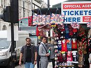 Harry and Megan tourist souvenirs, London. 23 April 2018