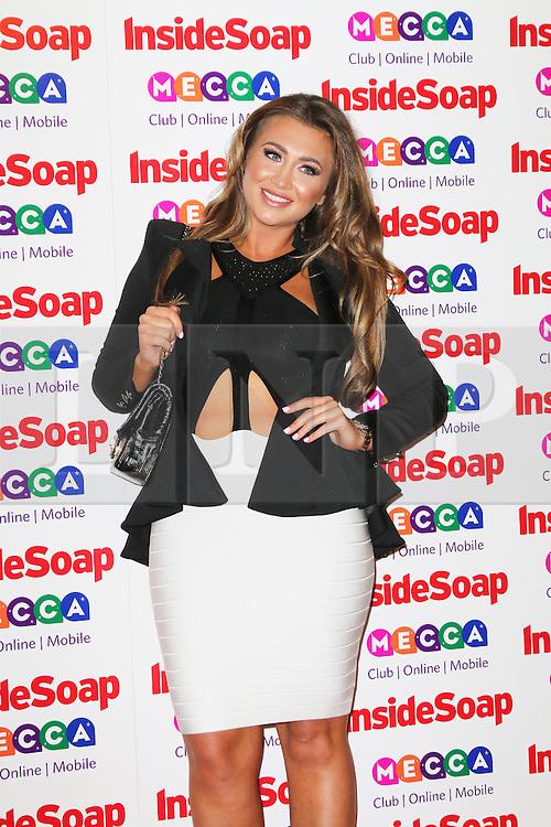 © Licensed to London News Pictures. 21/10/2013, UK. Lauren Goodger, Inside Soap Awards, Ministry Of Sound, London UK, 21 October 2013. Photo credit : Richard Goldschmidt/Piqtured/LNP