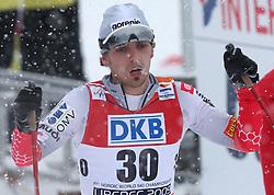 Mitja Oranic of Slovenia at Nordic Combined Mass start 10 km of FIS Nordic World Ski Championships Liberec 2009, on February 19, 2009, in Liberec, Czech Republic. (Photo by Vid Ponikvar / Sportida)