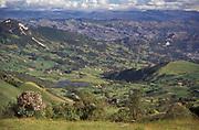 Farmland, Central Highlands, Ecuador
