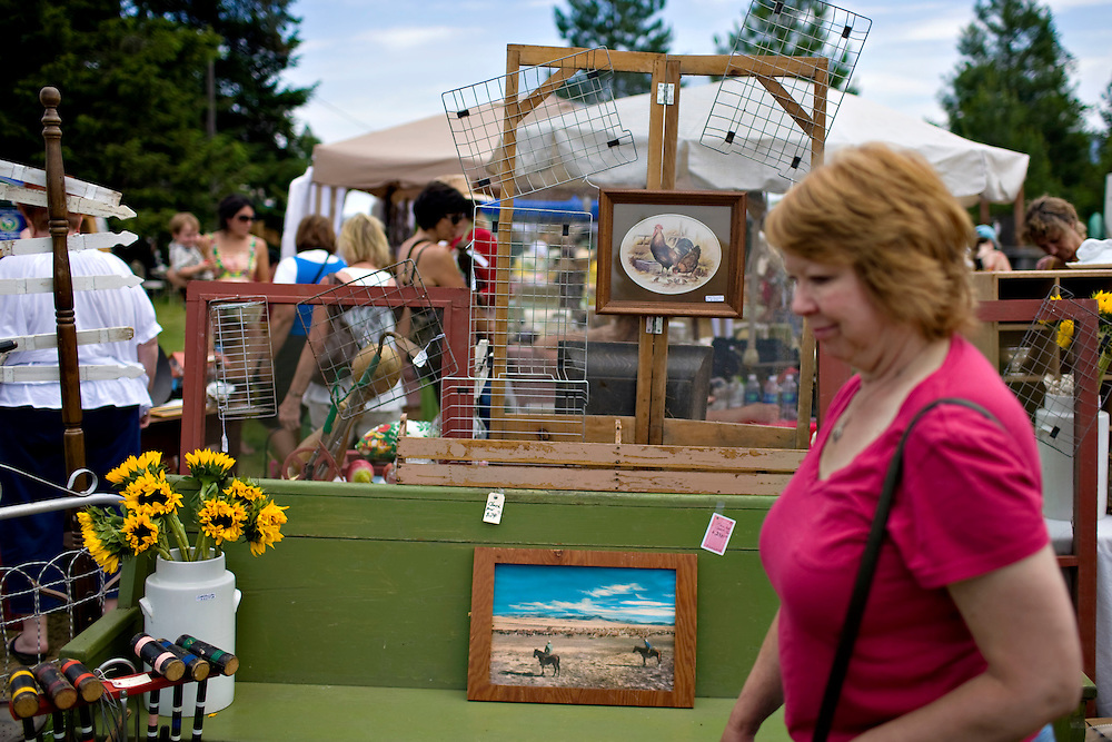 2010 Vintage Barn Sale in Rathdrum, Idaho is held twice per year -- once in July and again in September.