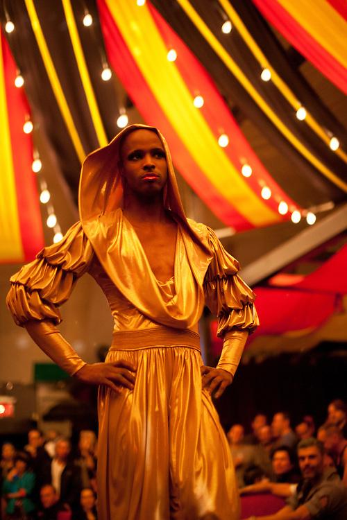 Ramono Martelli J. on the catwalk
