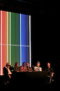 l to r;  Henry Benson,Leora Khan, Jamel Shabazz, Joseph Rodriguez, Salva Mogutin, and Brian Finke, Photographers of Powerhouse Books at The New York Photo Festival (NYPH) in the Dumbo section of, Brooklyn on May 15, 2008 ..Photography, one of the most important visual media of our lives, has been surprisingly uncelebrated, particularly in the United States. New York City, home to the most influential commercial and fine art photography community, has lacked?until now?a large-scale event dedicated to photography.. .powerHouse Books and VII Photo Agency have joined forces to launch the new, annual New York Photo Festival, the first international-level festival of photography to be based in the U.S.