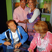 Heropening Madame Tussauds Amsterdam, Gerard Joling en Irene Moors, zwanger