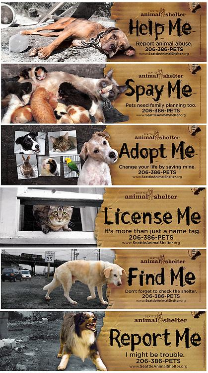 Seattle Animal Shelter ads