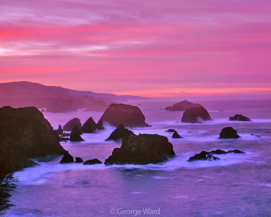 Cuffy Cove, Greenwood Creek State Beach, Mendocino, California