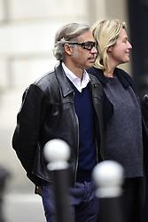 October 13, 2017 - Paris, France, France - Paul Belmondo et sa femme Luana (Credit Image: © Panoramic via ZUMA Press)