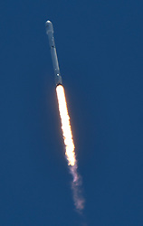 June 25,2017. Vandenberg AFB. CA. A Falcon 9 rocket lifts off from Vandenberg AFB Sunday with Iridium communications satellites. This is the 2nd launch in 48hrs for SpaceX from FL and CA and both were successful from liftoff, delivering payload and return landing on drone ships.. Photo by Gene Blevins/LA DailyNews/SCNG/Zuma Press (Credit Image: © Gene Blevins via ZUMA Wire)