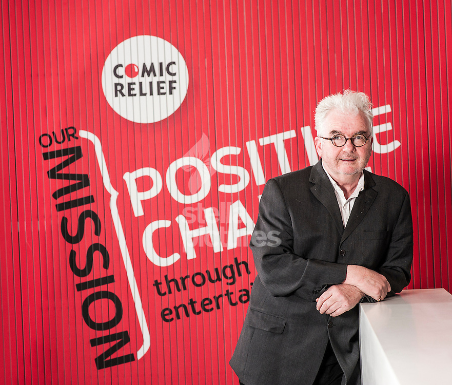 Picture by Daniel Hambury/Stella Pictures Ltd +44 7813 022858<br /> 10/12/2013<br /> Kevin Cahill CBE, Chief Executive, Comic Relief, pictured at their central London offices.