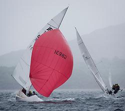 Clyde Cruising Club's Scottish Series 2019<br /> 24th-27th May, Tarbert, Loch Fyne, Scotland<br /> <br /> Day 2 Wet & Wild on Loch Fyne, GBR31, Ricochet, CCC / RGYC, Etchells 22<br /> <br /> <br /> Credit: Marc Turner / CCC