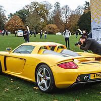 Porsche Carrera GT at Rennsport Collective at Stowe House, Buckinghamshire, UK, on 1 November 2020